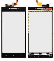 Сенсор (тачскрин) для телефона Lenovo P70 Black