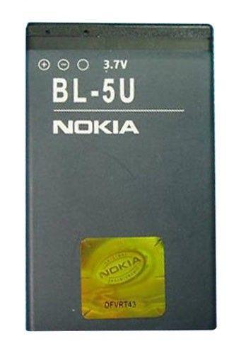 Аккумулятор Nokia BL-5U (1000 mAh) 12 мес. гарантии