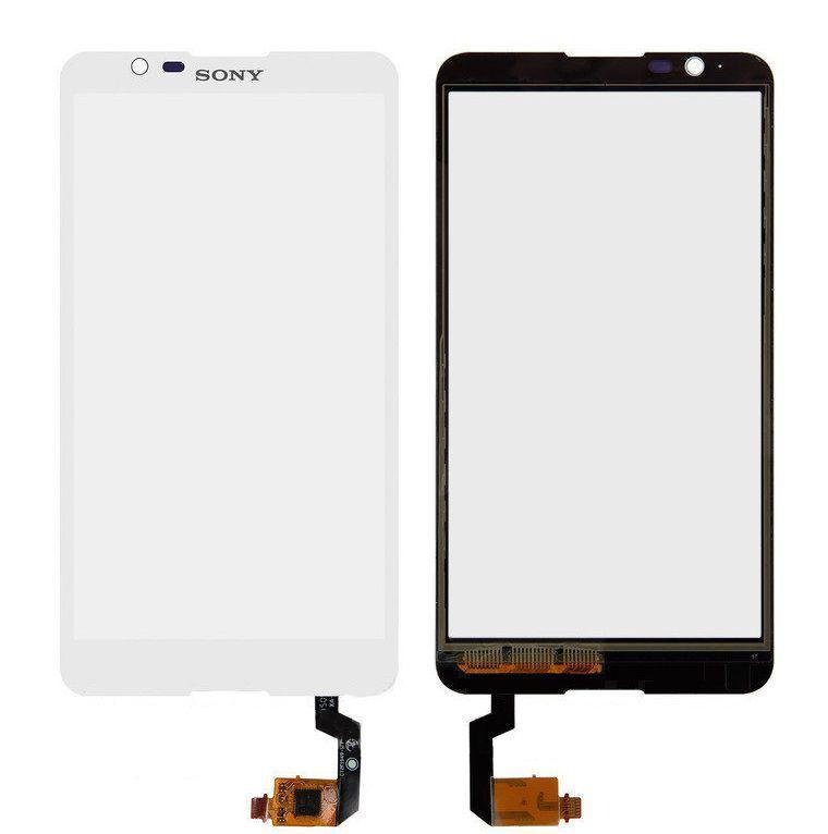 Сенсор (тачскрин) для телефона Sony Xperia E4 E2104, E2105, E2115, E2124 White