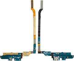 Шлейф Samsung I9500 Galaxy S4 нижня плата з роз'ємом зарядки і мікрофоном