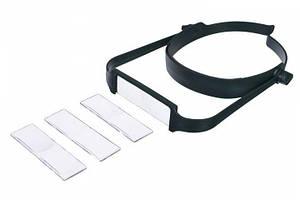 Лупа бинокулярная (налобная) Magnifier 81004 3.5x max