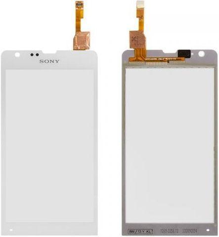 Сенсор (тачскрин) для телефона Sony Xperia SP C5302 M35h, C5303 M35i, C5306 White