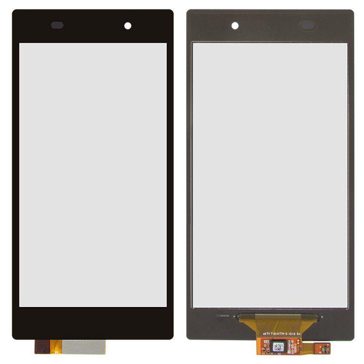 Сенсор (тачскрин) для телефона Sony Xperia Z1 C6902 L39h, C6903, C6906, C6943 Black