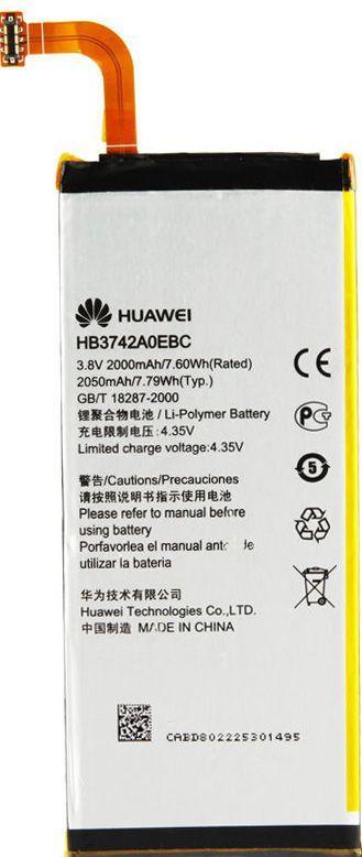 Аккумулятор Huawei P6 Ascend / HB3742A0EBC (2000 mAh) Original
