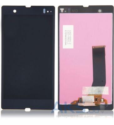Дисплей Sony Xperia Z L36h C6602, L36i C6603, L36a C6606 + Touchscreen (original) Black
