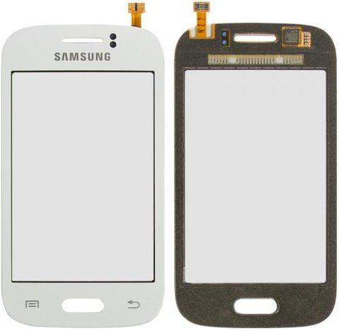 Сенсор (тачскрин) для телефона Samsung Galaxy Young S6310, S6312 White
