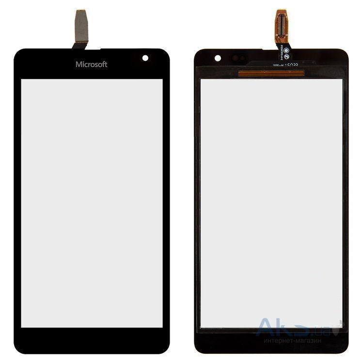 Сенсор (тачскрин) Microsoft Lumia 535 (CT2S1973FPC-A1-E) Black