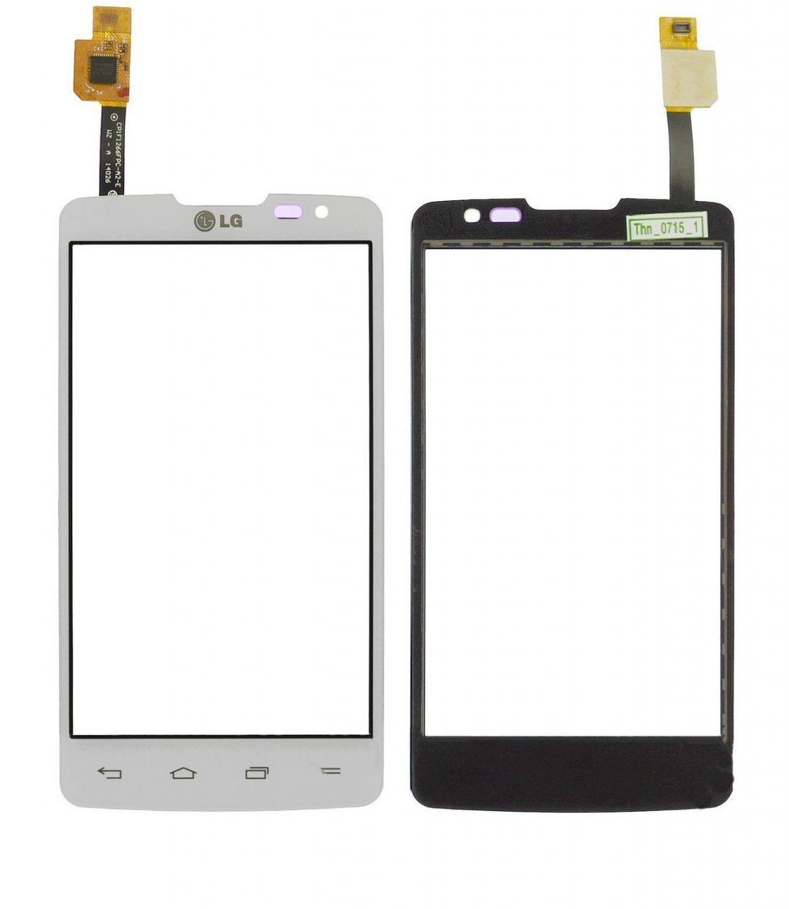Сенсор (тачскрин) для телефона LG L60 Dual X135, X145 White