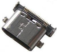 (Коннектор) Разъем USB Type-C, Разъем зарядки Lg H791 Google Nexus 5X / H820, H830, H840, H845, H850, LS992, US992, VS987 G5 / USB type C Original