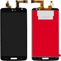 Дисплей (экран) для телефона Lg G Pro Lite D680, D682 + Touchscreen Original Black