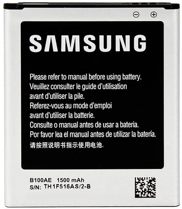 Акумулятор Samsung S7272 Galaxy Ace 3 DUOS / B100AE (1500 mAh) 12 міс. гарантії