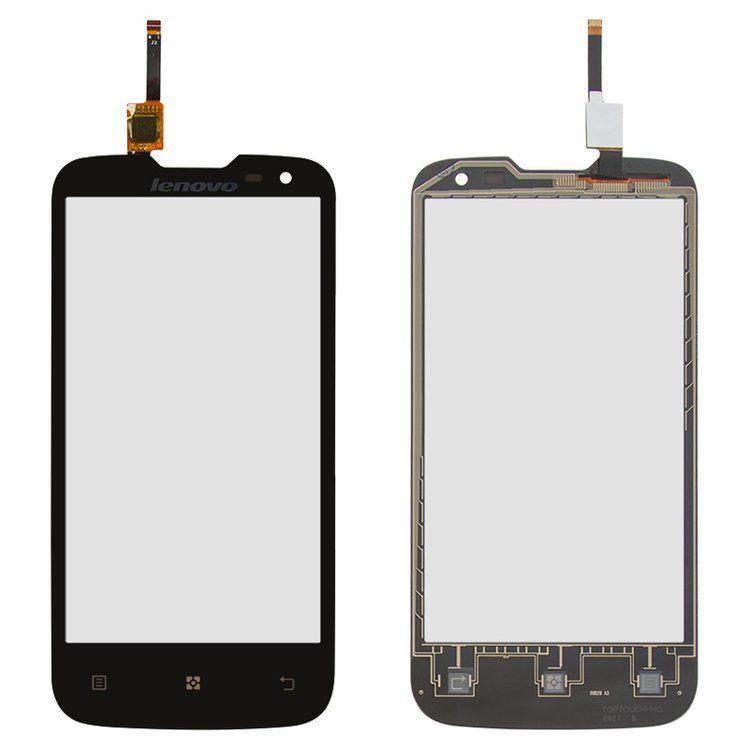 Сенсор (тачскрин) для телефона Lenovo A830 Black