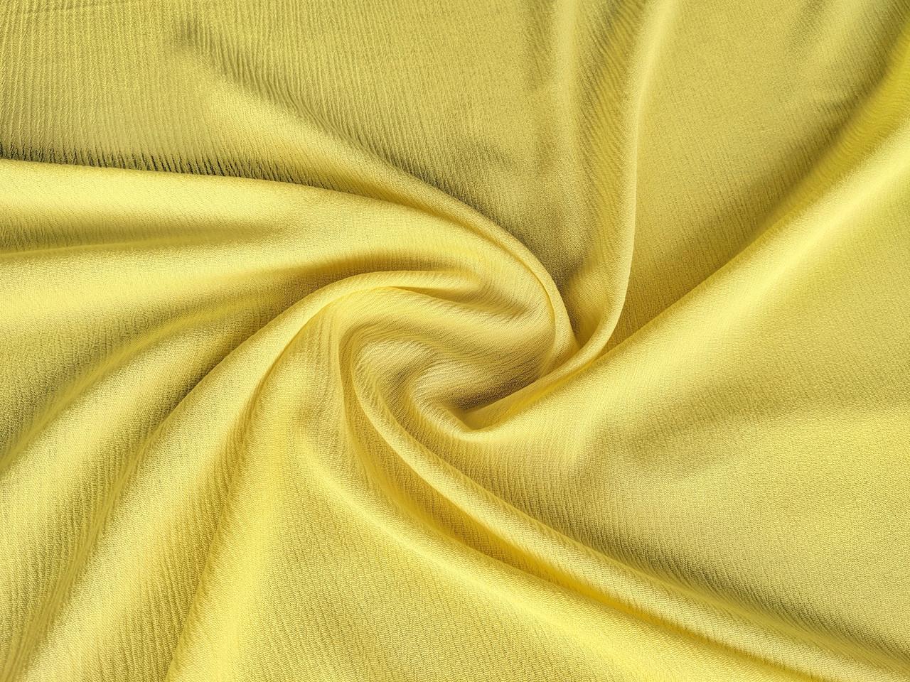 Жатый штапель, желтый