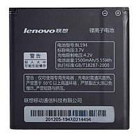 Акумулятор Lenovo A690 IdeaPhone / BL194 (1500 mAh) Original