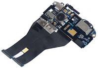 Шлейф HTC Sensation Z710e / Z715e Sensation XE камери, динаміка, кнопки включення, роз'єм навушників