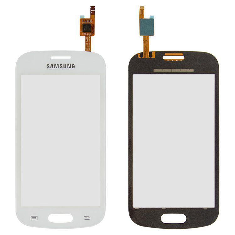 Сенсор (тачскрин) для телефона Samsung Galaxy Trend S7390, S7392 White