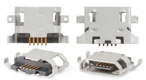 (Коннектор) Разъем зарядки Fly iQ239 / iQ431 / iQ449 / E154