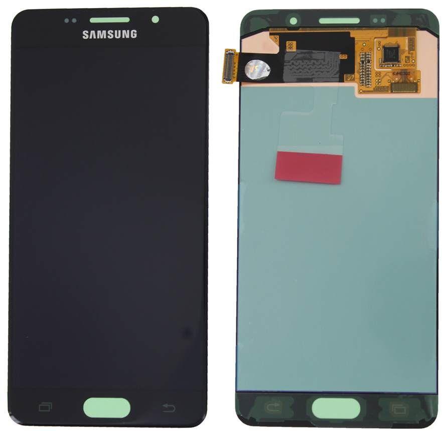 Дисплей (экран) для телефона Samsung Galaxy A5 A510 (2016), A5100, A510F, A510FD, A510M, A510Y (Super AMOLED) + Touchscreen Original Black