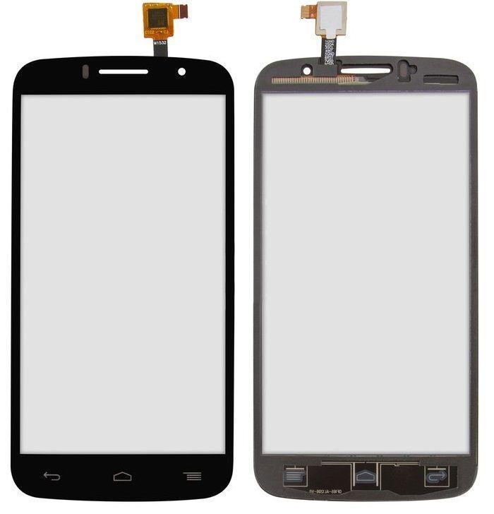 Сенсор (тачскрін) Alcatel One Touch 7040N Fierce 2 Black