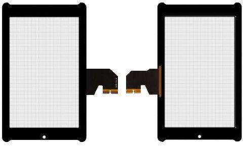 Сенсор (тачскрин) Asus FonePad 7 ME373CG, HD7 ME372, ME372CG (1Y003A, K00E, K00EB, #5470L FPC-BX, FPC-1) Black