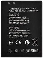 Аккумулятор Bravis ALTO (2000 mAh) 12 мес. гарантии, фото 1