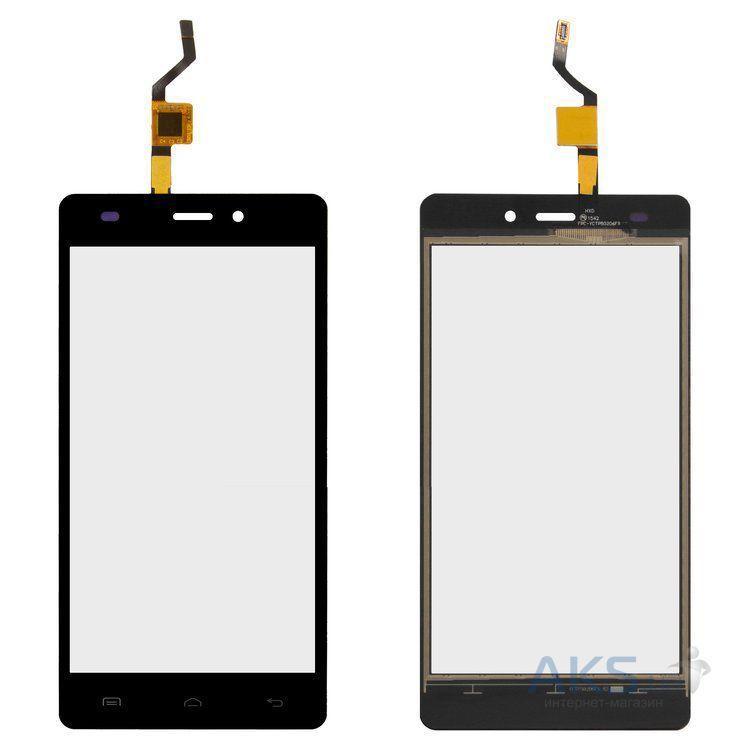 Сенсор (тачскрин) DOOGEE X5, X5 Pro Black