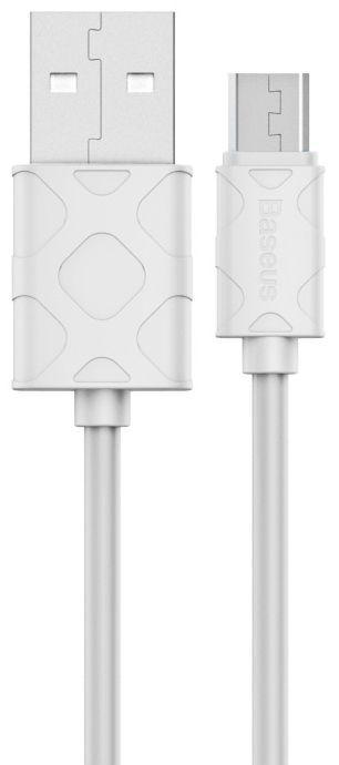 Кабель USB Baseus Yaven micro USB White (CAMUN-02)