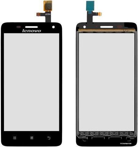Сенсор (тачскрин) для телефона Lenovo S660 Black