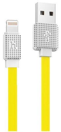 Кабель USB Hoco Waffle Lightning 2m Yellow (UPL18)