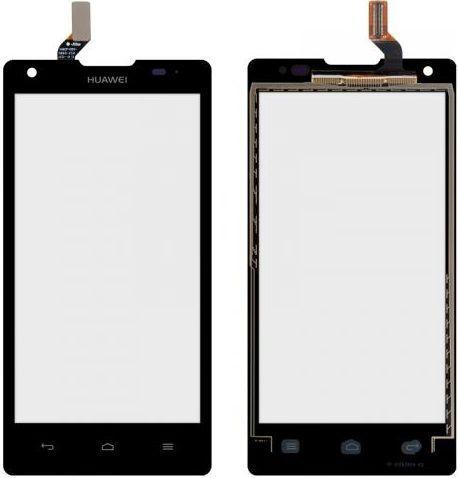 Сенсор (тачскрин) для телефона Huawei Ascend G700 Black