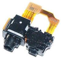 Шлейф Sony C6902 L39h Xperia Z1, C6903 L36h Xperia Z1 c роз'ємом навушників і датчиком наближення