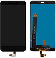 Дисплей (экран) для телефона Xiaomi Redmi Note 4 MediaTek + Touchscreen Original Black