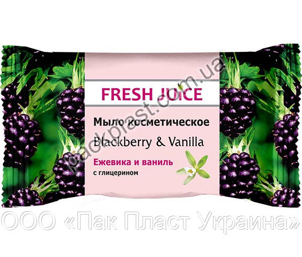 "Мыло Fresh Juice ""Blackberry & Vanilla"""