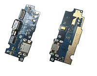 Шлейф Meizu M2 / M2 mini нижня плата з роз'ємом зарядки, мікрофоном і вібромотором