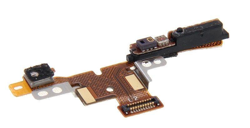 Шлейф Meizu MX4 с кнопкой включения, датчиком приближения и микрофоном