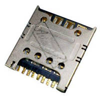 (Конектор) Роз'єм для SIM-карти Samsung i8260 Galaxy Core / i8262 Galaxy Core / i8552 Galaxy Win / i8580