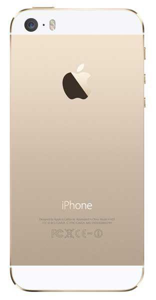 Корпус Apple iPhone 5 Gold