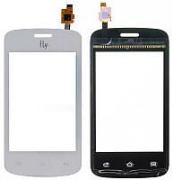 Сенсор (тачскрин) для телефона Fly IQ239 Era Nano 2 (без отверстия под камеру) White