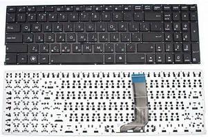 Клавиатура для ноутбука Asus X556 series без рамки черная