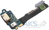 Шлейф HTC One mini 601n з роз'ємом зарядки і мікрофоном