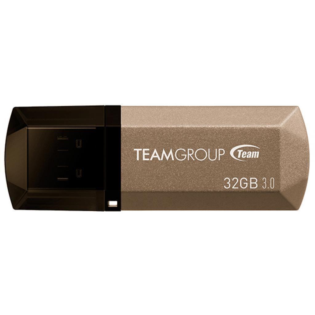 Флешка USB Team 32GB C155 GOLDEN USB 3.0 (TC155332GD01)