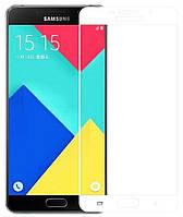 Защитное стекло 1TOUCH Full Glue Samsung A520 Galaxy A5 2017 White