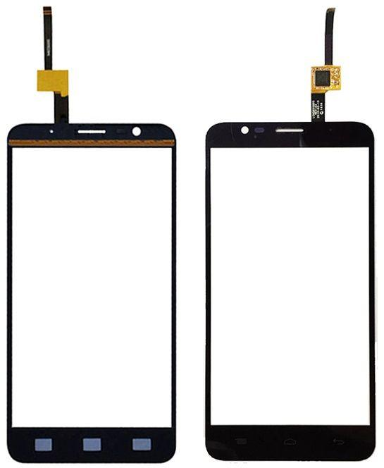 Сенсор (тачскрин) для телефона Alcatel One Touch 6042D Flash Black