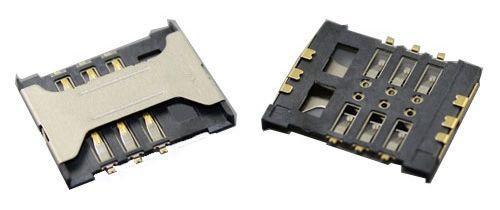 (Коннектор) Разъем SIM-карты Xiaomi Mi2 / Mi2s