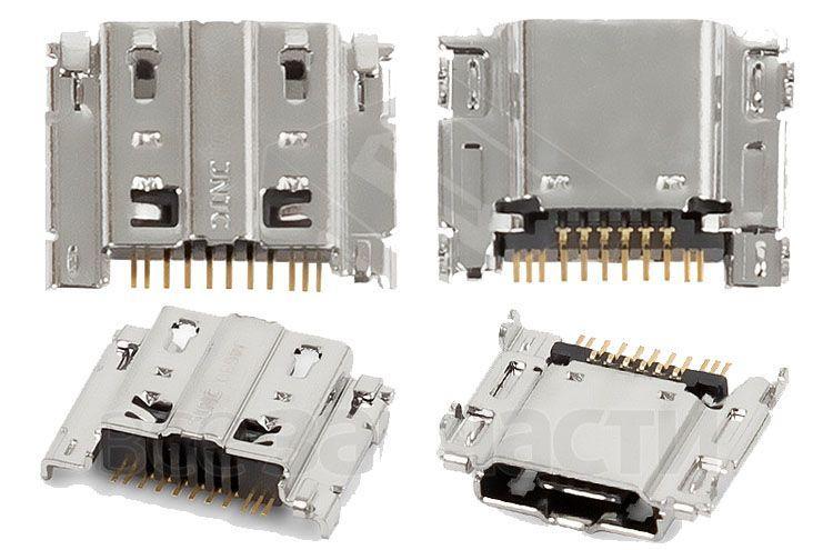 (Коннектор) Разъем зарядки Samsung I9260 Galaxy Premier