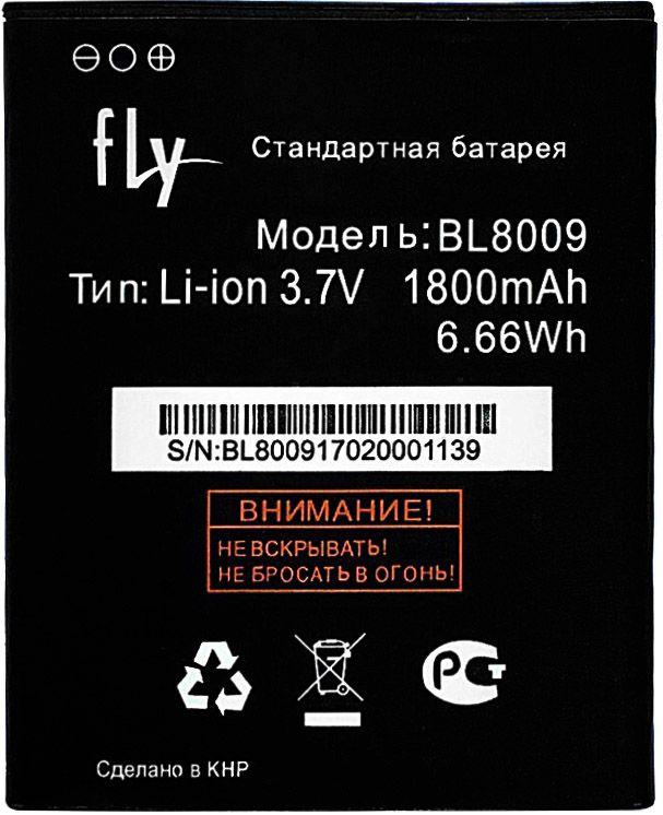 Аккумулятор Fly FS451 Nimbus 1 / BL8009 (1800 mAh) 12 мес. гарантии
