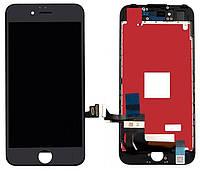 Дисплей (экран) для телефона Apple iPhone 7 + Touchscreen (переклеено стекло, original) Black