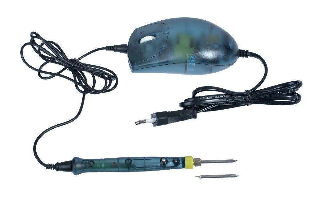 Паяльник з портативним блоком управління Zhongdi Industry ZD-20F (керамічний, з терморегулятором, з