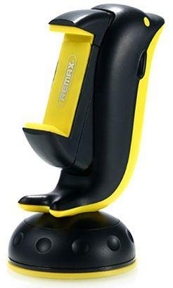 Автодержатель  Remax RM-C20 Dolphin Black / Yellow