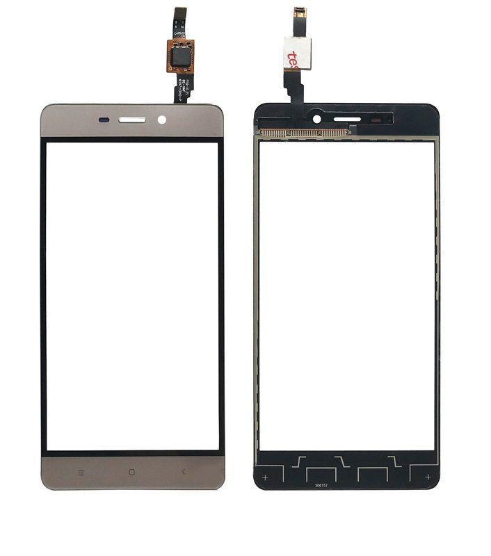 Сенсор (тачскрин) для телефона Xiaomi Redmi 4 Gold